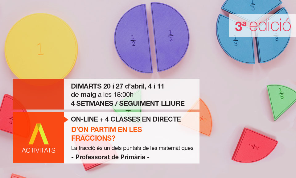 Curs Fraccions Meskmates Professors Primària